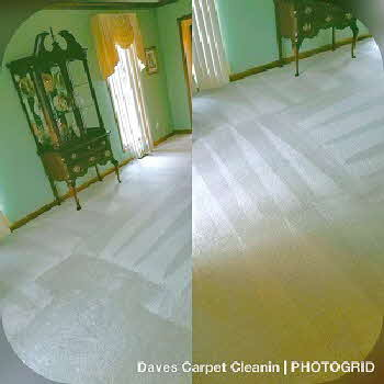 Rochester, michigan carpet cleaning company near by before and after job picture
