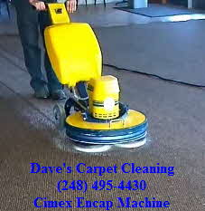 cimex encap carpet cleaner